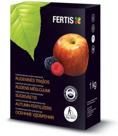 Комплексное минеральное универсальное удобрение Fertis (Фертис), 1кг, NPK 5.15.25, Осень фото