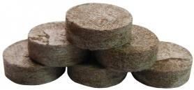 Торфяная таблетка Jiffy (Джиффи), 100шт, 24мм, TM ROSLA (Росла) фото