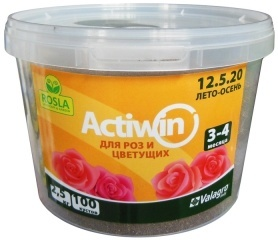 Комплексное минеральное удобрение для роз Actiwin (Активин), 2.5кг, NPK 12.5.20+ME, Лето-Осень, 3-4 мес., TM ROSLA (Росла) фото