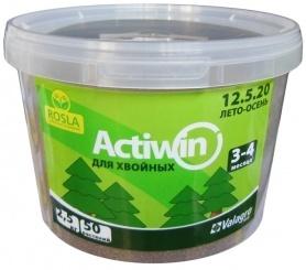 Комплексное минеральное удобрение для хвои Actiwin (Активин), 2.5кг, NPK 12.5.20+ME, Лето-Осень, 3-4 мес., TM ROSLA (Росла) фото