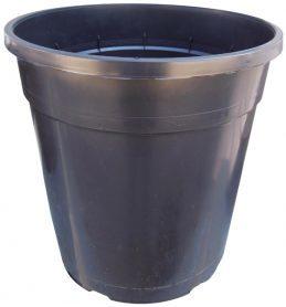Горшок для рассады, FH27, 10л, 250x256, черный, Kloda (Клода) фото