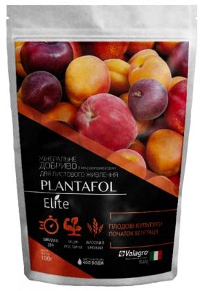 Комплексное минеральное удобрение для плодовых культур, начало вегетации, Plantafol Elite (Плантафол Элит), 100г, NPK 30.10.10, Valagro (Валагро) фото