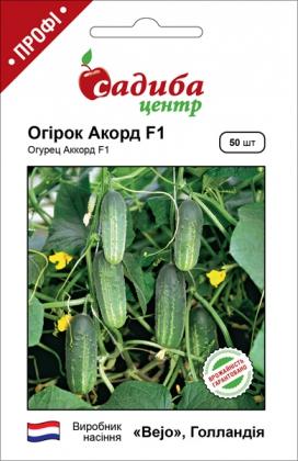 Семена огурца Акорд F1, 50шт, Bejo, Голландия, семена Садиба Центр фото