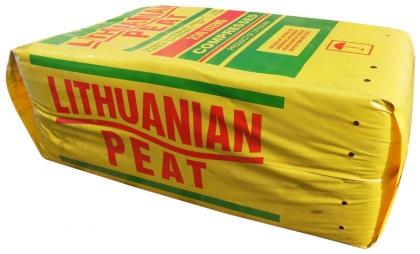 Торф Lithuanian peat, ph 3.5-4.5, фр. 0-40мм, 250л фото