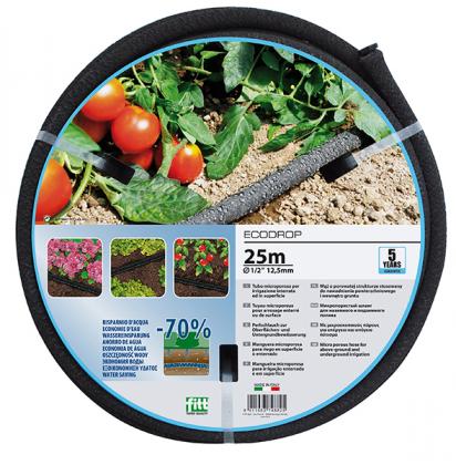 Поливочный шланг Ecodrop 13мм (1/2'), 25м, Аквапульс фото