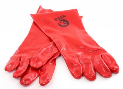 Перчатки маслостойкие 35см, Intertool, SP-0007 фото
