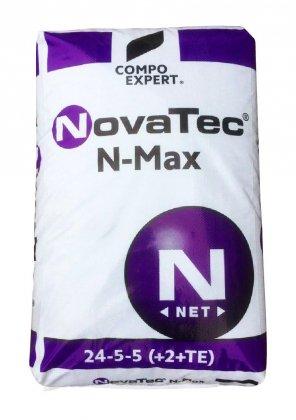 Комплексное минеральное удобрение для газона NovaTec N-Max (НоваТек Н-Макс), 25кг, NPK 24.5.5+ME, Весна-Старт, Compo Expert (Компо Эксперт) фото