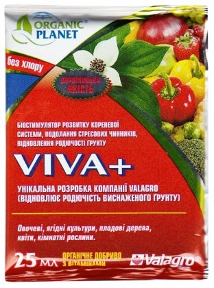 Биостимулятор Viva+ (Вива+), 25мл, Valagro (Валагро) фото