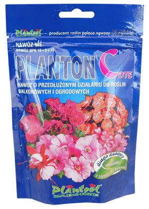 Комплексное минеральное удобрение для балконных и садовых растений Planton Cote (Плантон Кот), 200г, NPK 16.8.10 фото