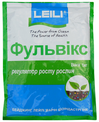 Биостимулятор роста Фульвикс 80, 1кг, Leili (Леили) фото