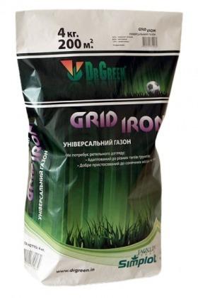 Газонная трава универсальная Grid Iron, 4кг, TM Dr. Green, Simplot (Канада) фото