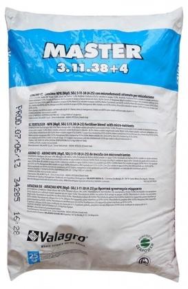 Комплексное минеральное удобрение Master (Мастер), 25кг, NPK 3.11.38+4, Valagro (Валагро) фото