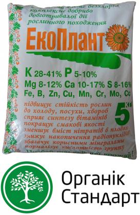 Органическое удобрение Экоплант, 5кг фото