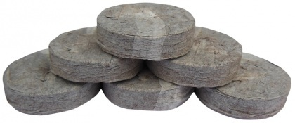 Торфяные таблетки, 50шт, 41мм, TM ROSLA (Росла) фото