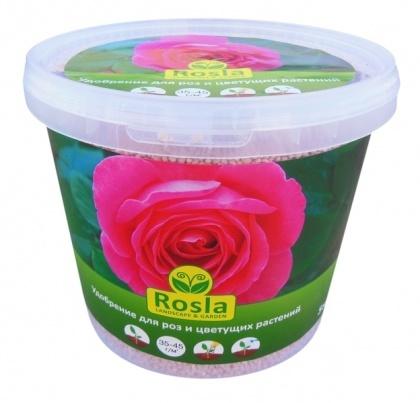 Комплексное минеральное удобрение для роз и цветущих растений, NPK 10.6.12+МЕ, 5кг, TM RosLa (Росла) фото