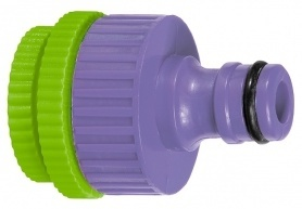 Адаптер пластмассовый, 1/2'-3/4'-1', внутренняя резьба, Palisad, 657358 фото