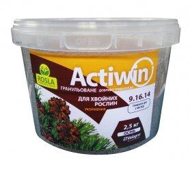 Комплексное минеральное удобрение для хвои Actiwin (Активин), 2.5кг, NPK 9.16.14+ME, Осень, 2 мес., TM RosLa (Росла) фото