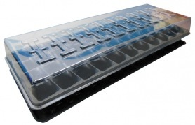 Парничок для рассады СП, 44 яч, касс. 195х490 мм, яч. 40х40х55 мм, т.с. 0,7 мм, пластиковый фото