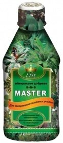 Комплексное минеральное удобрение для декоративно-лиственных Master Elit (Мастер Элит), 300мл фото