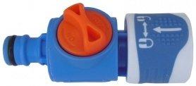 Адаптер – коннектор с ручным клапаном, Аквапульс,  AS112 фото