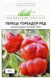 Семена перца Тореадор Рэд F1 0.2г, Anseme, Италия, Професійне насіння фото