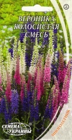 Семена вероники колосистой смесь, 0.1г, Семена Украины фото