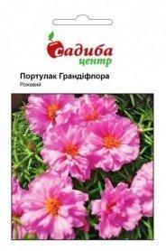 Семена портулака Грандифлора розовый, 0.02г, Hem, Голландия, Садиба Центр фото
