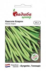 Семена фасоли спаржевой Кларон, зеленая, 20шт, Syngenta, Голландия, Садиба Центр фото