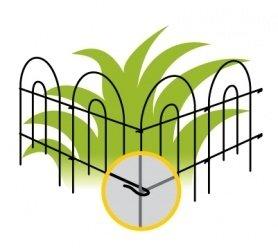 Ограждение для растения Orangerie, M 4 400-500 фото