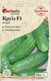 Семена огурца Круиз F1, 0.5г, Украина, семена Садиба Центр Традиція фото
