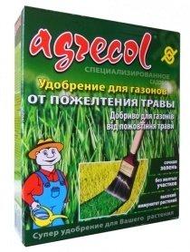 Комплексное минеральное удобрение от пожелтения газона Agrecol (Агрекол), 1кг фото