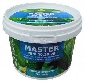 Комплексное минеральное удобрение для овощных культур, рост плодов, Master (Мастер), 300г, NPK 20.20.20, TM ROSLA (Росла) фото