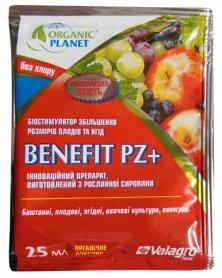 Биостимулятор роста плодов Benefit PZ + (Бенефит ПЗ), 25мл,  Valagro (Валагро) фото