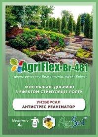 Комплексное минеральное удобрение универсальное AgriFlex Br-481 (Агрифлекс Бр-481), 4г, Agrisol (Агрисол) фото