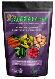Комплексное минеральное удобрение для овощных культур AgriFlex Br-481 (Агрифлекс Бр-481), 100г, Agrisol (Агрисол) фото