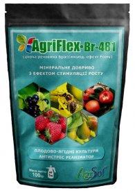 Комплексное минеральное универсальное удобрение для плодово-ягодных культур AgriFlex Br-481 (Агрифлекс Бр-481), 100г, Agrisol (Агрисол) фото