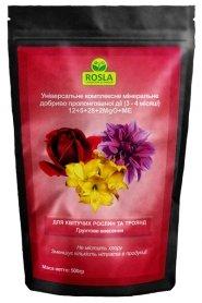 Комплексное минеральное удобрение для роз и цветущих растений Mivena (Мивена), 500г, NPK 12.5.28+2MgO+ME, TM ROSLA (Росла) фото