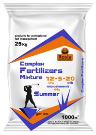 Комплексное минеральное удобрение для газона Complex Fertilizer (Комплекс), 25кг, NPK 12.5.20+МЕ, TM ROSLA (Росла) фото