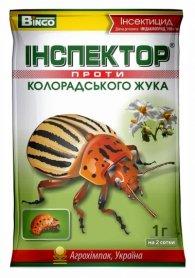Инсектицид Инспектор против колорадского жука, 1г, Агрохимпак фото
