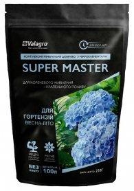 Комплексное минеральное удобрение для гортензий Super Master (Супер Мастер), 250г, NPK 15.5.30, Весна-Лето, Valagro (Валагро) фото