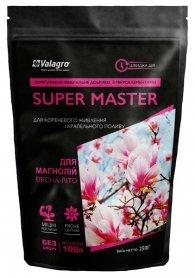 Комплексное минеральное удобрение для магнолий Super Master (Супер Мастер), 250г, NPK 18.18.18, Весна-Лето, Valagro (Валагро) фото