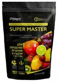 Комплексное минеральное удобрение для плодово-ягодных культур Super Master (Супер Мастер), 250г, NPK 3.11.38, Лето-Осень, Valagro (Валагро) фото