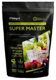 Комплексное минеральное удобрение для плодово-ягодных культур Super Master (Супер Мастер), 250г, NPK 20.20.20, Весна-Лето, Valagro (Валагро) фото