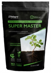 Комплексное минеральное удобрение универсальный укоренитель Super Master (Супер Мастер), 250г, NPK 13.40.13, Valagro (Валагро) фото
