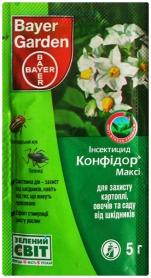 Инсектицид Конфидор Макси, 5г, Bayer (Байер) фото