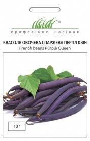 Семена фасоли Перпл Квин, 10г, Anseme, Италия, Професійне насіння фото