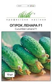 Семена огурца Ленара F1, 10шт, Rijk Zwaan, Голландия, Професійне насіння фото