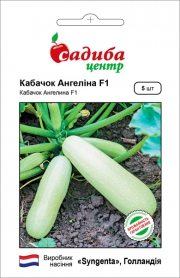 Семена кабачка салатного Ангелина F1, 5шт, Syngenta, Голландия, семена Садиба Центр фото