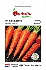 Семена моркови Каротан, 1г, Rijk Zwaan, Голландия, семена Садиба Центр фото