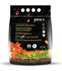Комплексное минеральное удобрение для газона Arvi (Арви) Fertis, 10кг, NPK 5.15.30, Осень фото